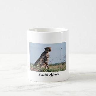 South Africa - Cheetah Coffee Mug