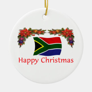South Africa Christmas Christmas Ornament