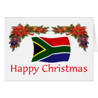 South Africa Christmas Greeting Card