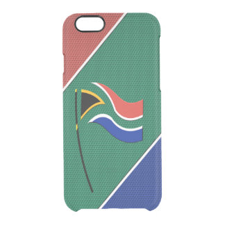 South Africa Clear iPhone 6/6S Case