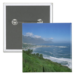 South Africa - Clifton Beach, Cape Town 15 Cm Square Badge