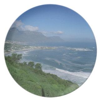 South Africa - Clifton Beach, Cape Town Plate