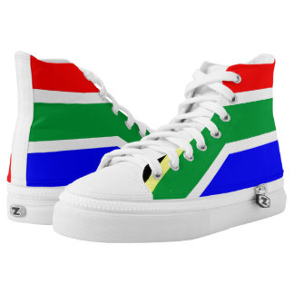 South Africa country flag symbol nation High Tops