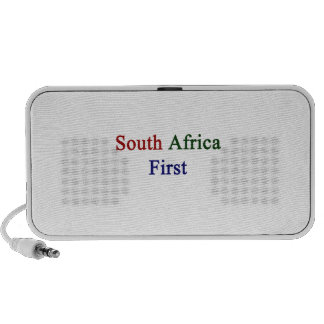 South Africa First Notebook Speaker