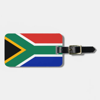 South Africa flag Bag Tag