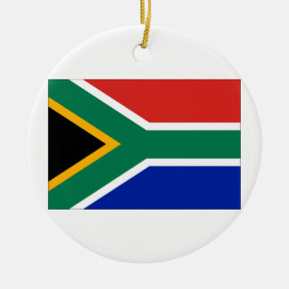 South Africa Flag Christmas Ornament