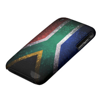 South Africa Flag Firework iPhone 3 Case-Mate Case