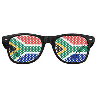 South Africa Flag Glasses