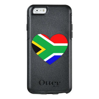 South Africa Flag Heart OtterBox iPhone 6/6s Case