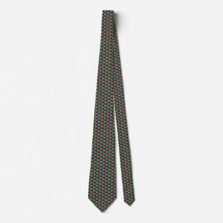 South Africa Flag Hearts Tie