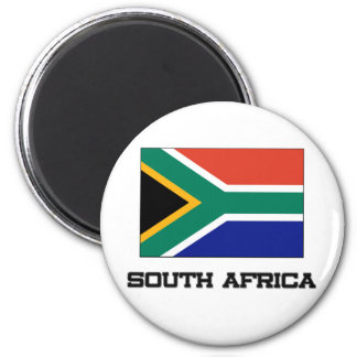 South Africa Flag Fridge Magnet