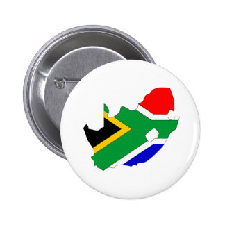 South Africa Flag Map full size Buttons