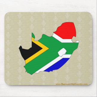 South Africa Flag Map full size Mousepad