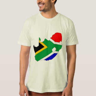 South Africa Flag Map full size Tee Shirts