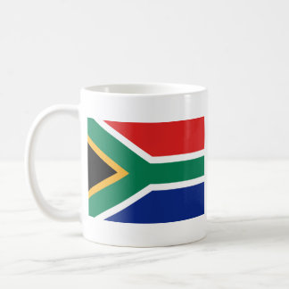 South Africa Flag ~ Map Mug