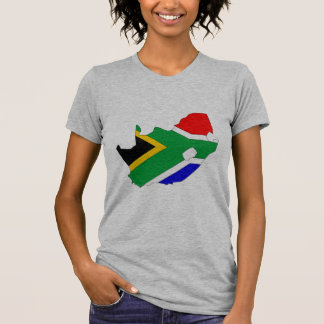 South Africa flag map T-Shirt