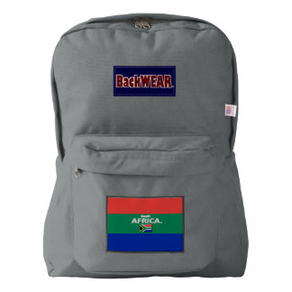 South Africa Flag Modern Designer backpacks Sale Backpack