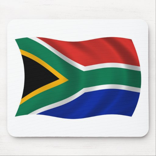 South Africa Flag Mousepad