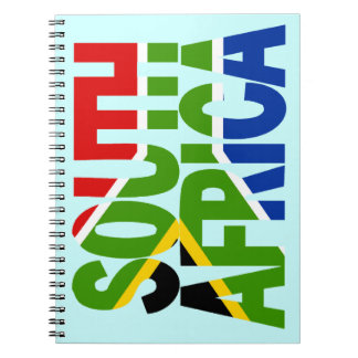 South Africa + flag Notebook