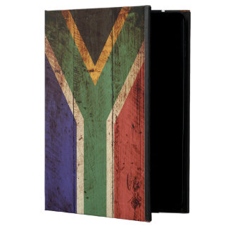 South Africa Flag on Old Wood Grain Powis iPad Air 2 Case