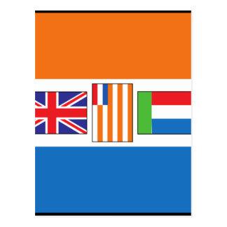South Africa Flag Postcard