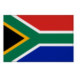 South Africa Flag Poster