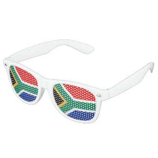 South Africa Flag Retro Sunglasses
