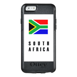 South Africa Flag Simple Dark OtterBox iPhone 6/6s Case