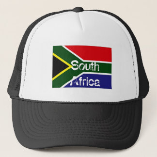South Africa flag souvenir hat