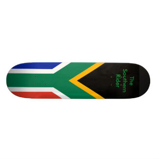 South Africa Flag The MUSEUM Zazzle Gifts Template Skate Board