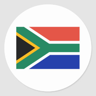 South Africa Flag The MUSEUM Zazzle Gifts Template Sticker