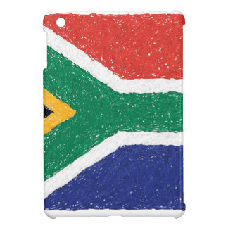 South Africa Flag Theme Cover For The iPad Mini