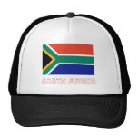 South Africa Flag with Name