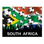 South Africa Football Postcards