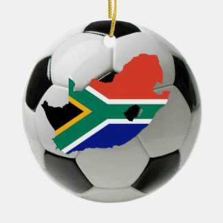 South Africa football soccer ornament