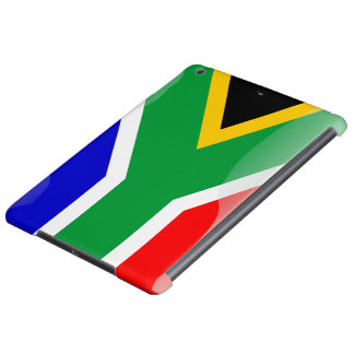 South Africa glossy flag Case For iPad Air