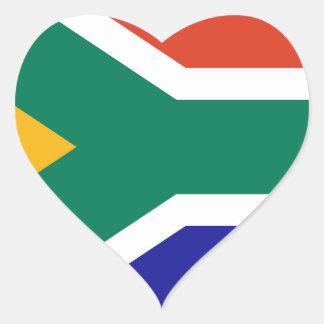 South Africa Heart Sticker