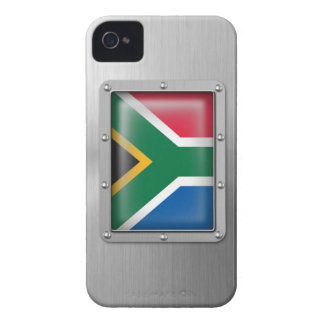 South Africa in Stainless Steel Case-Mate iPhone 4 Case