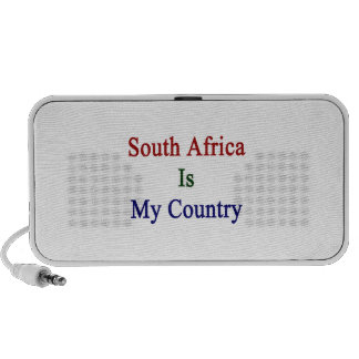 South Africa Is My Country Travel Speaker