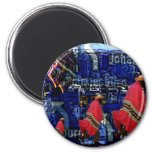 South Africa Johannesbug Design 6 Cm Round Magnet