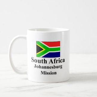 South Africa Johannesburg Mission Drinkware Basic White Mug
