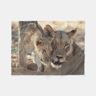 South Africa, Kalahari Gemsbok National Park 1 Fleece Blanket