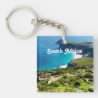 South Africa Square Acrylic Key Chains
