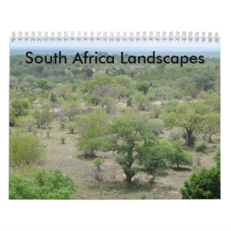 South Africa Landscapes Wall Calendars