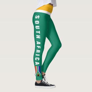 South Africa Leggings   Mini Flag