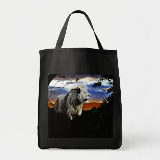 South Africa Lion in the Jungle Tote Bag