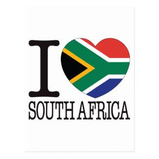 South Africa Love v2 Postcard