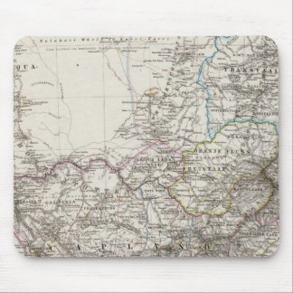 South Africa Map Mouse Pad