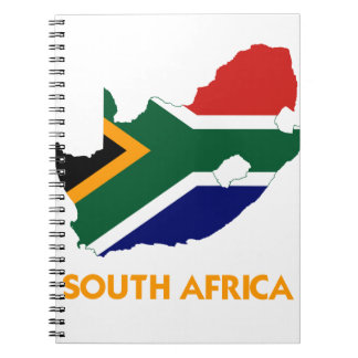 SOUTH AFRICA MAP NOTEBOOK