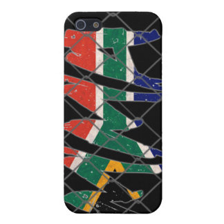 South Africa MMA black iPhone 4 case